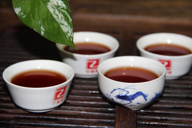 熟茶 陳年熟茶 陳年普洱茶 金針白蓮普洱茶 250克