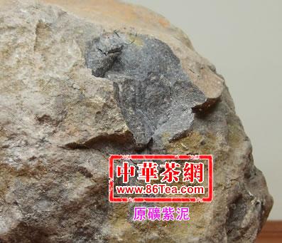 原矿紫泥是较常见的典型紫砂泥料
